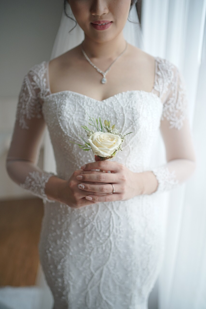 Wedding Day Jhony and Stella by Luminous Bridal Boutique - 003