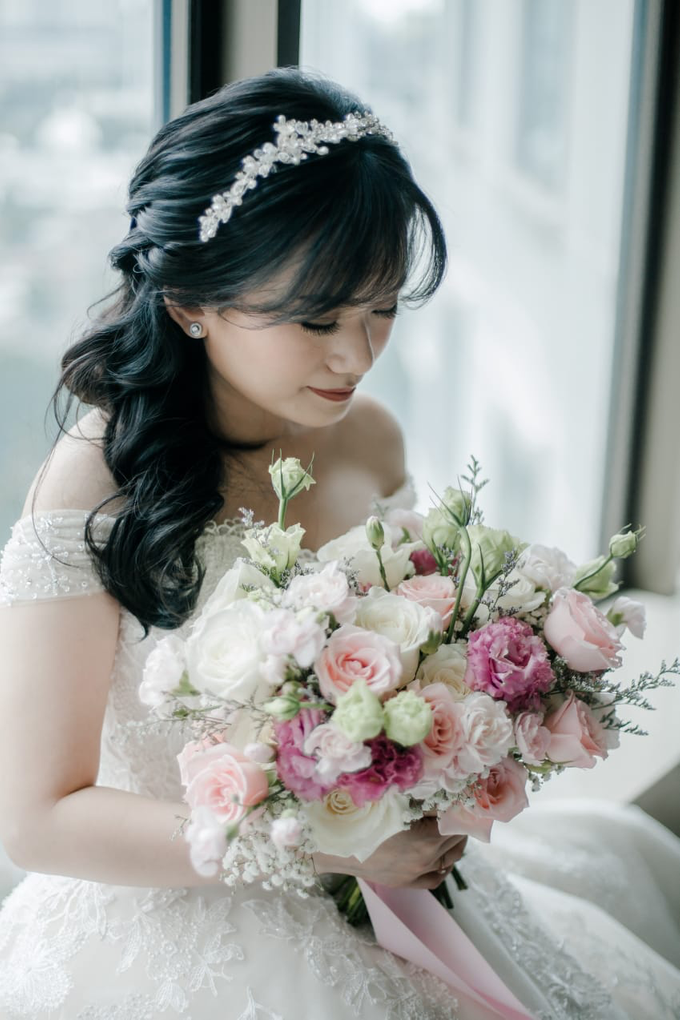 Wedding Day Adrian and Aldisa by Luminous Bridal Boutique - 009
