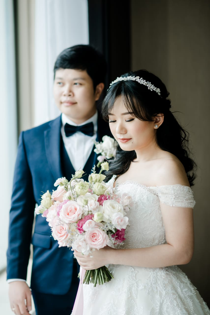 Wedding Day Adrian and Aldisa by Luminous Bridal Boutique - 013