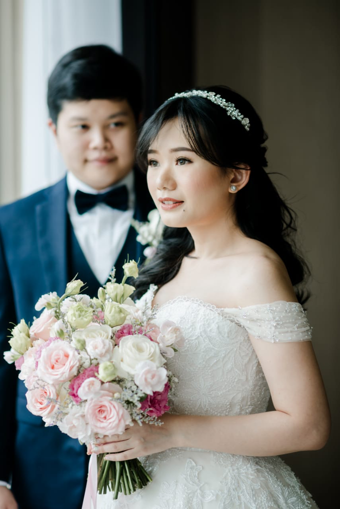 Wedding Day Adrian and Aldisa by Luminous Bridal Boutique - 016