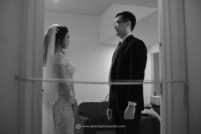 Wedding Day Chandra and Sahfitry by Luminous Bridal Boutique - 003