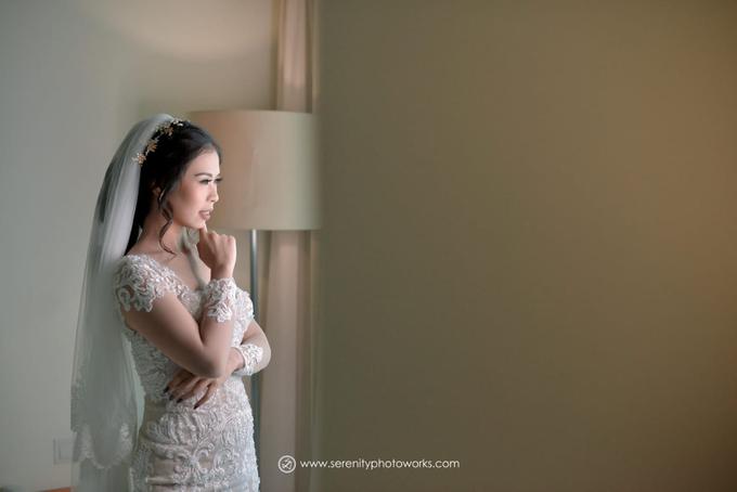 Wedding Day Chandra and Sahfitry by Luminous Bridal Boutique - 001