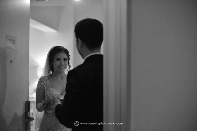 Wedding Day Chandra and Sahfitry by Luminous Bridal Boutique - 005