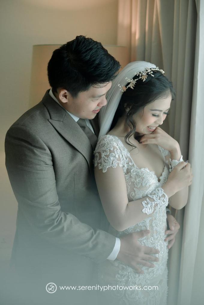 Wedding Day Chandra and Sahfitry by Luminous Bridal Boutique - 006