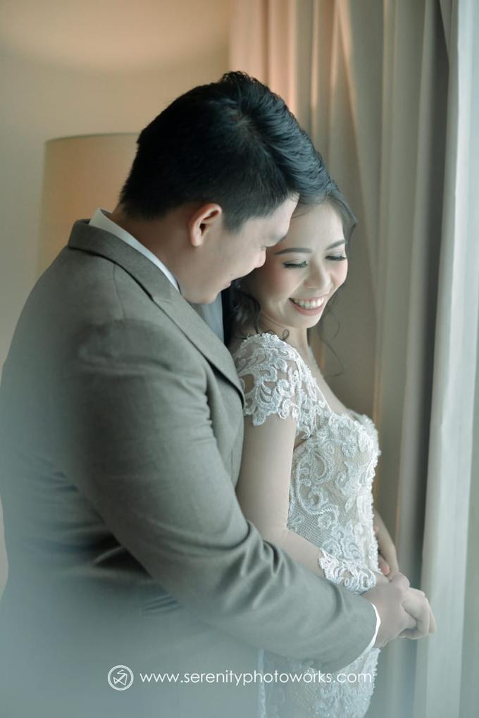 Wedding Day Chandra and Sahfitry by Luminous Bridal Boutique - 007