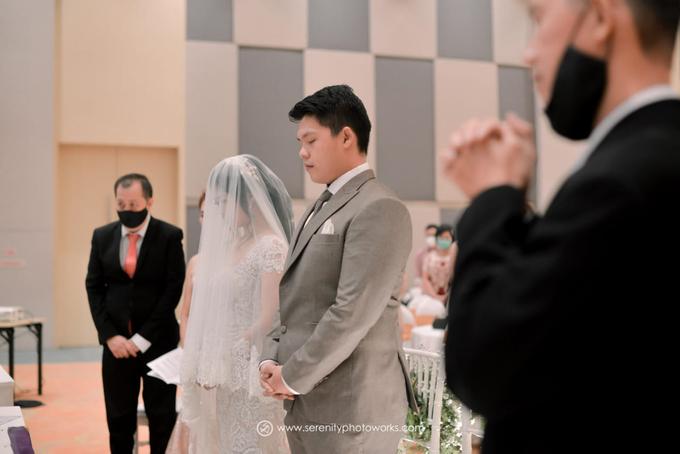 Wedding Day Chandra and Sahfitry by Luminous Bridal Boutique - 008