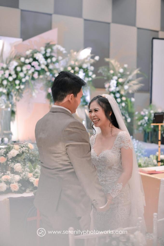Wedding Day Chandra and Sahfitry by Luminous Bridal Boutique - 010