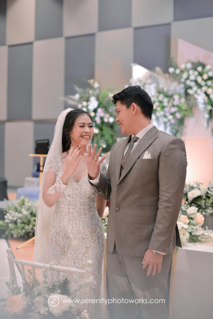 Wedding Day Chandra and Sahfitry by Luminous Bridal Boutique - 012