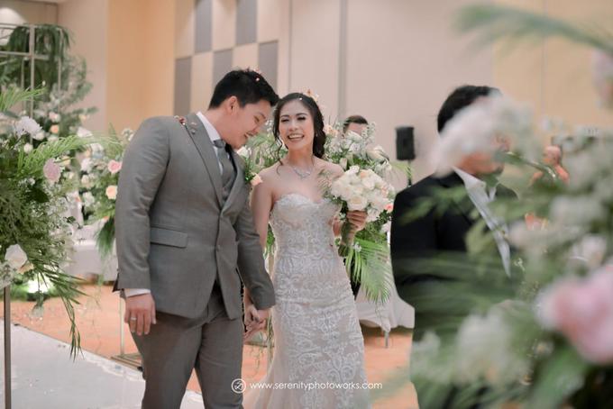 Wedding Day Chandra and Sahfitry by Luminous Bridal Boutique - 013