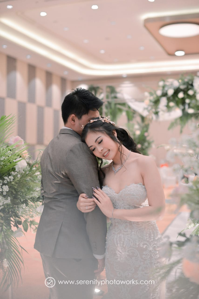 Wedding Day Chandra and Sahfitry by Luminous Bridal Boutique - 019