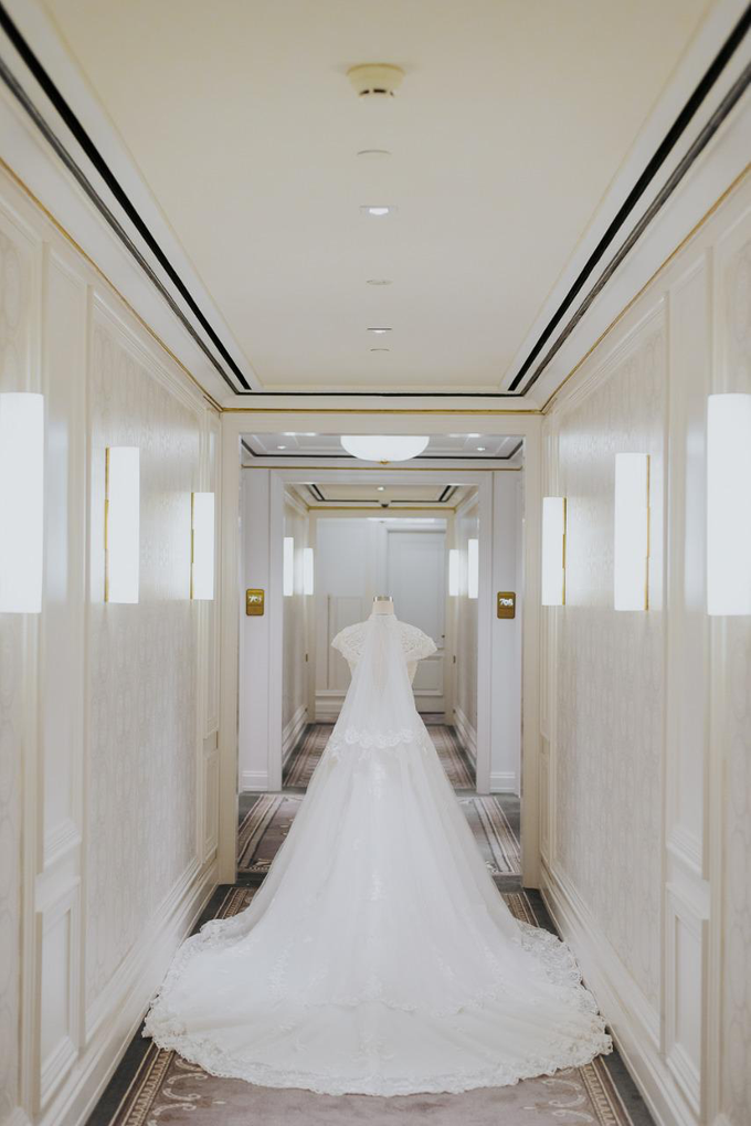 Wedding Day Irfan and Marina by Luminous Bridal Boutique - 004