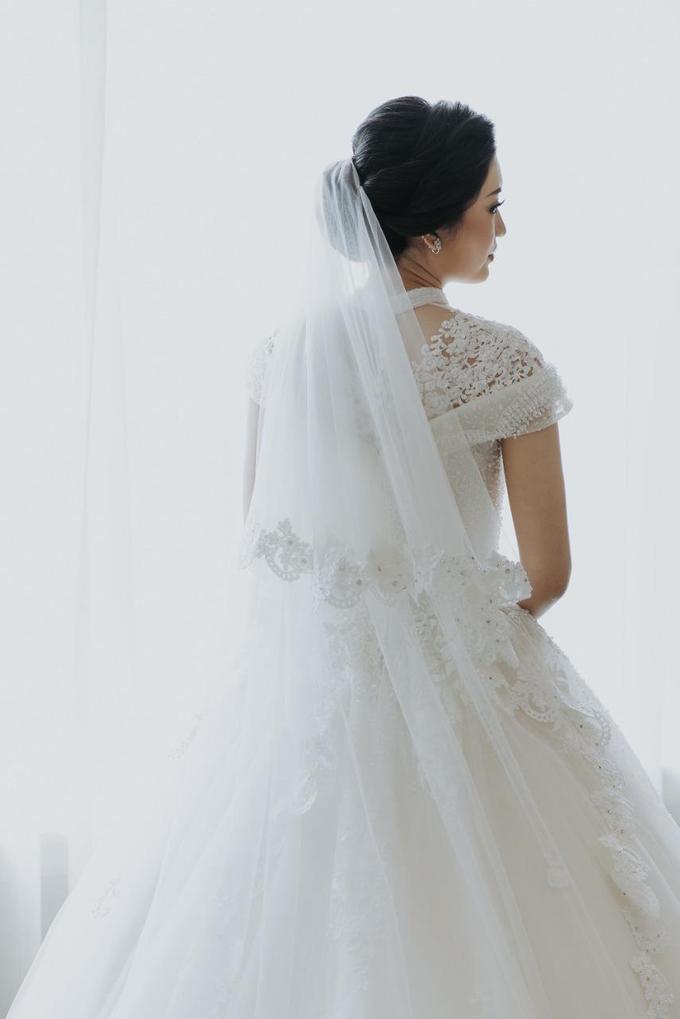 Wedding Day Irfan and Marina by Luminous Bridal Boutique - 005