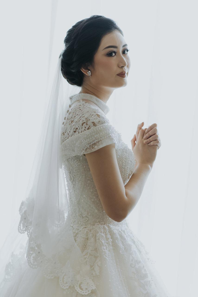 Wedding Day Irfan and Marina by Luminous Bridal Boutique - 006
