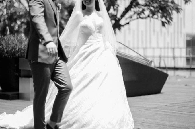 Wedding Day Risky and Theresia by Luminous Bridal Boutique - 003