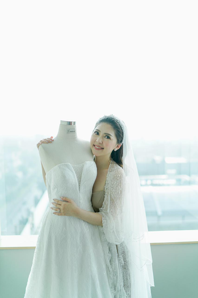 Wedding Day Risky and Theresia by Luminous Bridal Boutique - 026