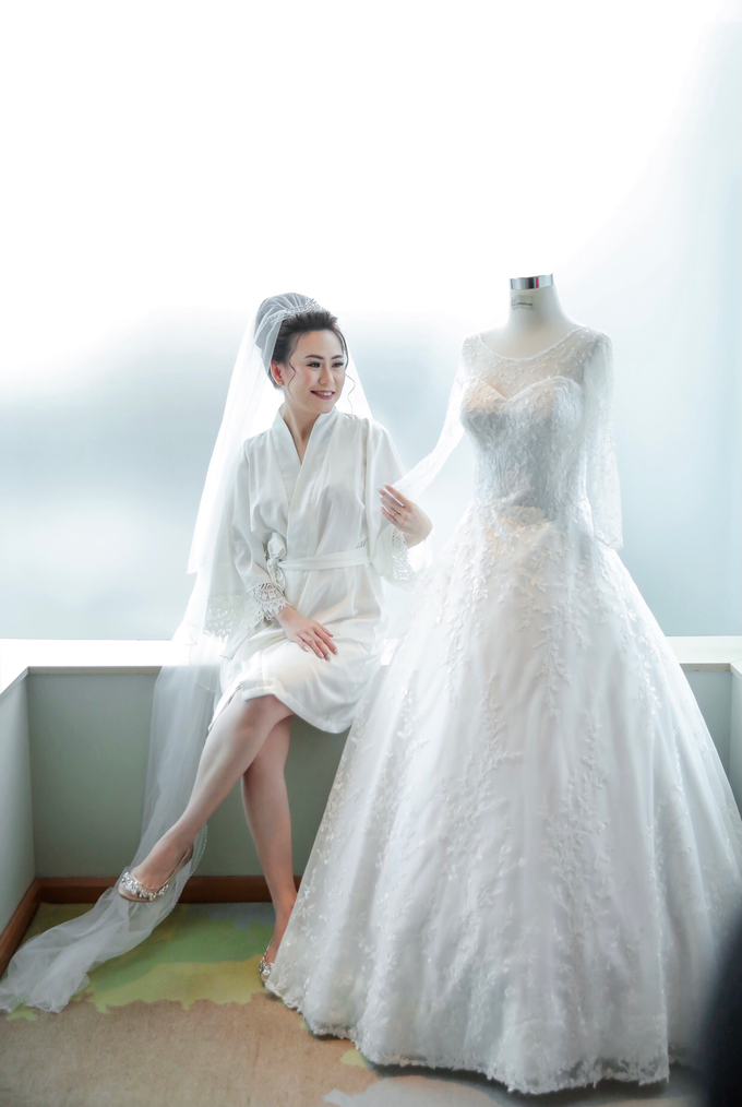 Wedding Day Azwin and Kristina by Luminous Bridal Boutique - 003