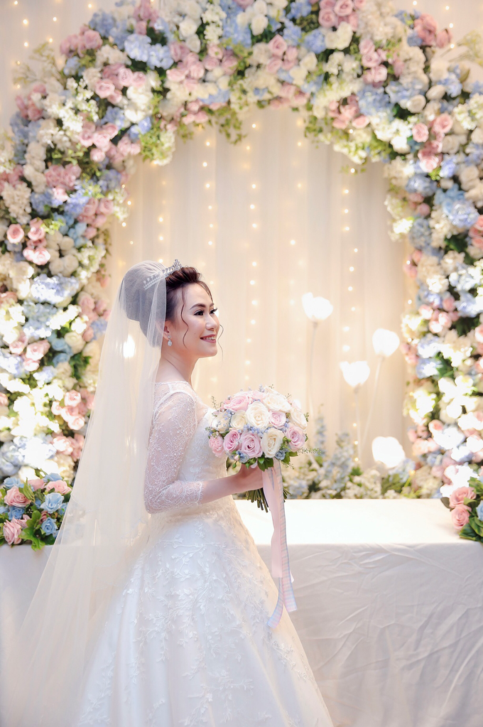 Wedding Day Azwin and Kristina by Luminous Bridal Boutique - 002