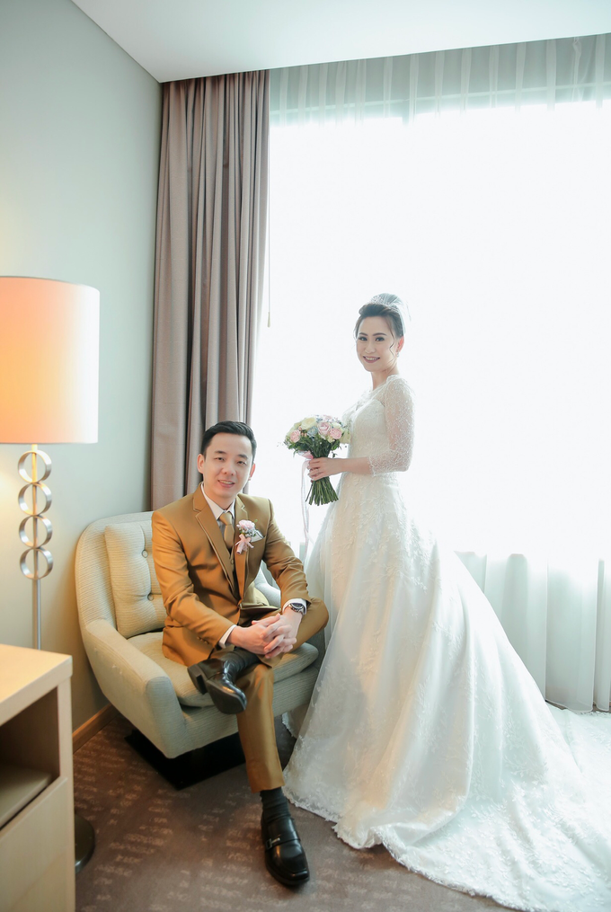 Wedding Day Azwin and Kristina by Luminous Bridal Boutique - 004