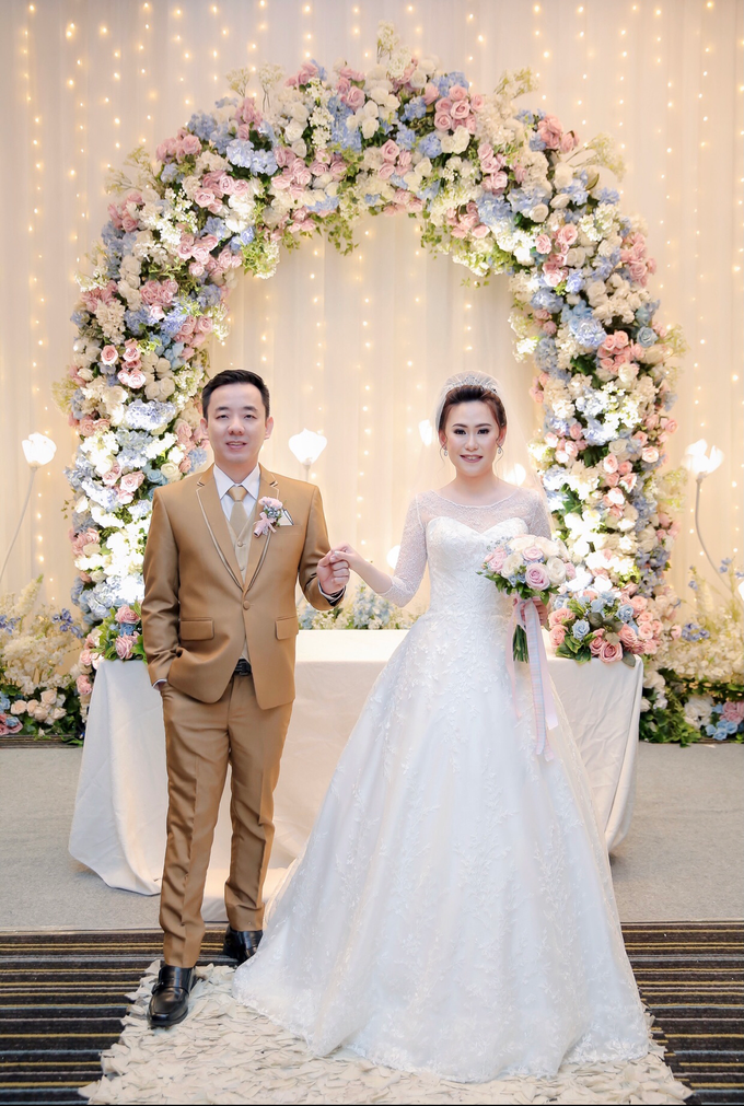 Wedding Day Azwin and Kristina by Luminous Bridal Boutique - 005