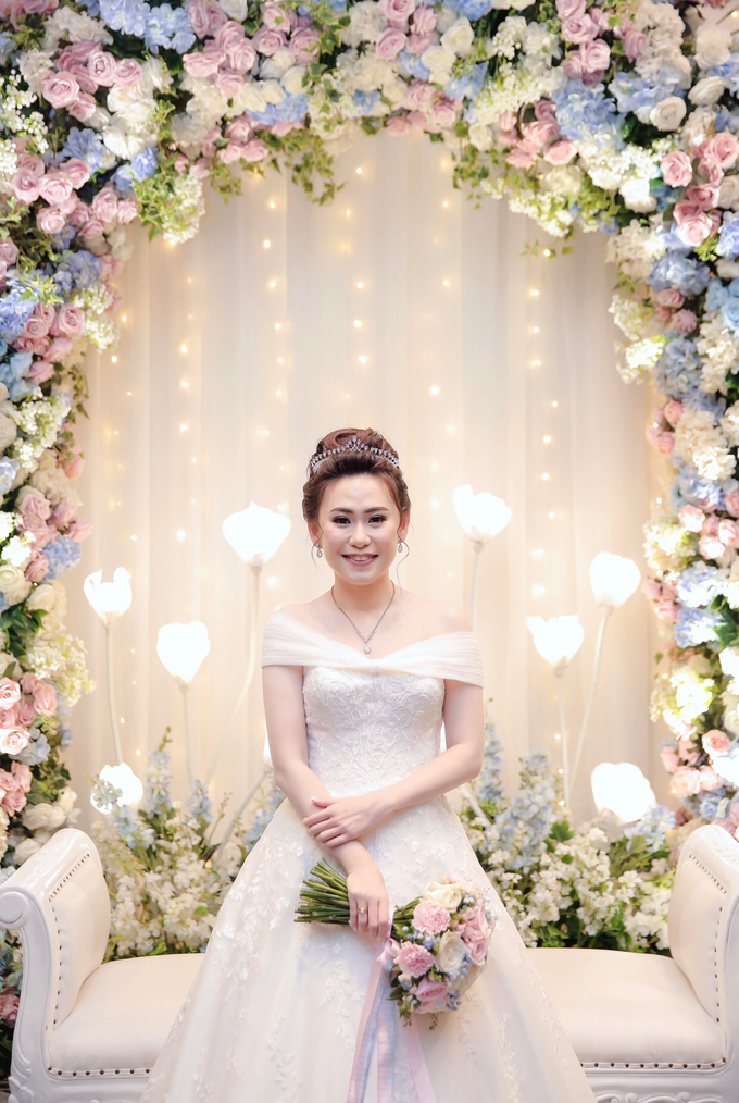 Wedding Day Azwin and Kristina by Luminous Bridal Boutique - 006