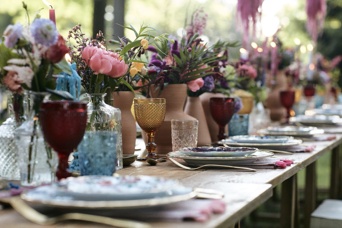 Luxury Boho style wedding  by lusso Events - 008