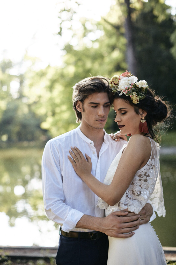 Luxury Boho style wedding  by lusso Events - 004