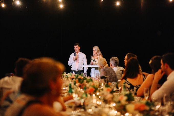 George & Joudy by BALI STAR WEDDING PLANNER - 006