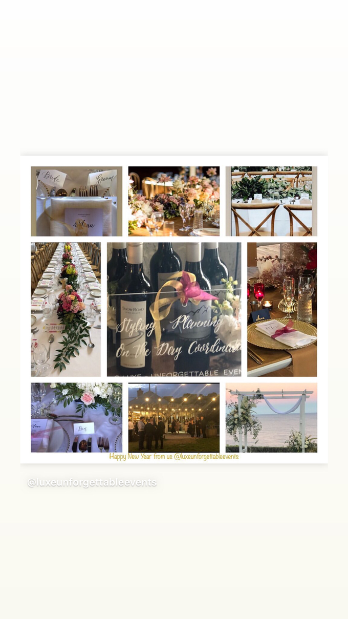 Wedding Planning - Styling - Coordination  by LUXE - Unforgettable Events - 001