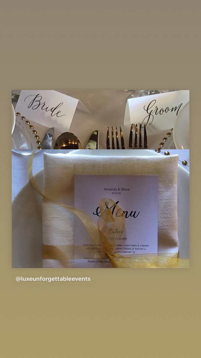 Wedding Planning - Styling - Coordination  by LUXE - Unforgettable Events - 003
