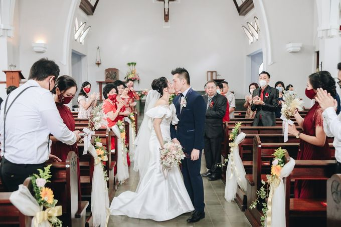 William & Selvi Wedding at Hilton Hotel by PRIDE Organizer - 023