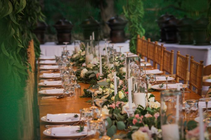 Sweet Garland Dinner by CITTA Wedding - 049