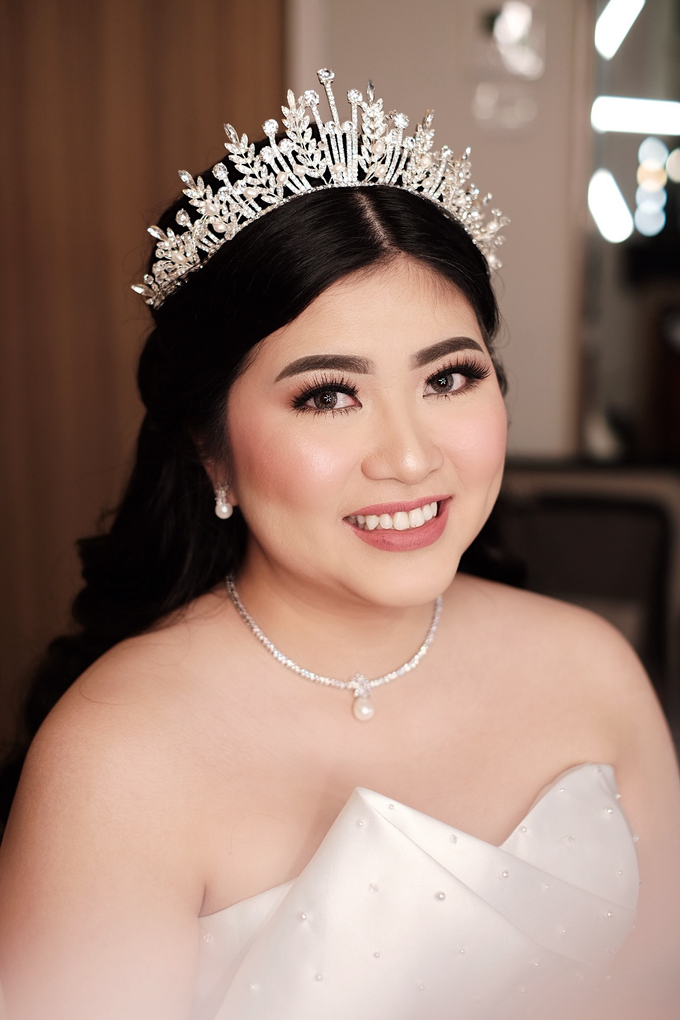 The Wedding of Agnes & Erick by Lydia Merry Makeup Artist - 003