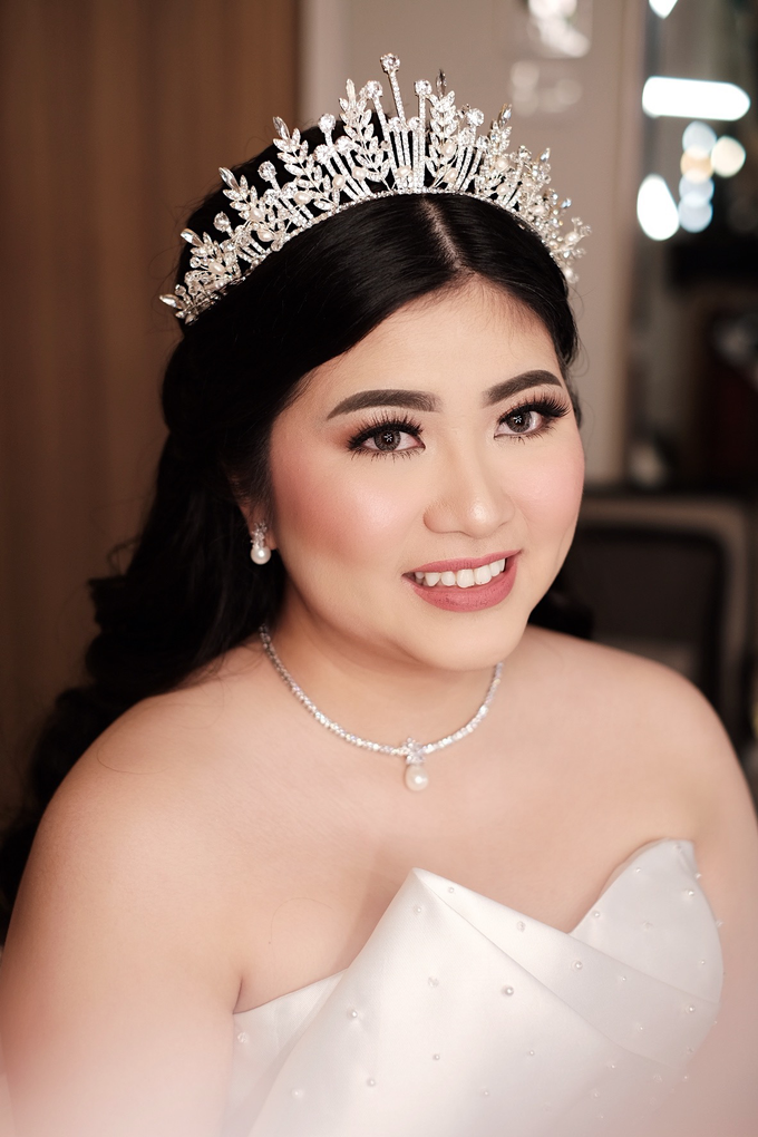 The Wedding of Agnes & Erick by Lydia Merry Makeup Artist - 002