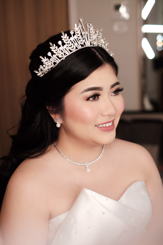 The Wedding of Agnes & Erick by Lydia Merry Makeup Artist - 004