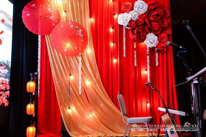 Oriental Wedding Decoration Theme by Wedding And You - 006