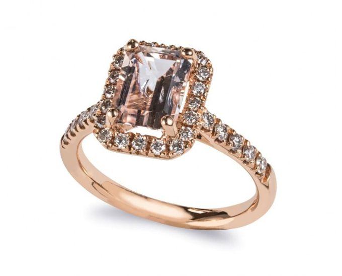 Morganite Engagement Rings by Lazlo Jewellers - 004