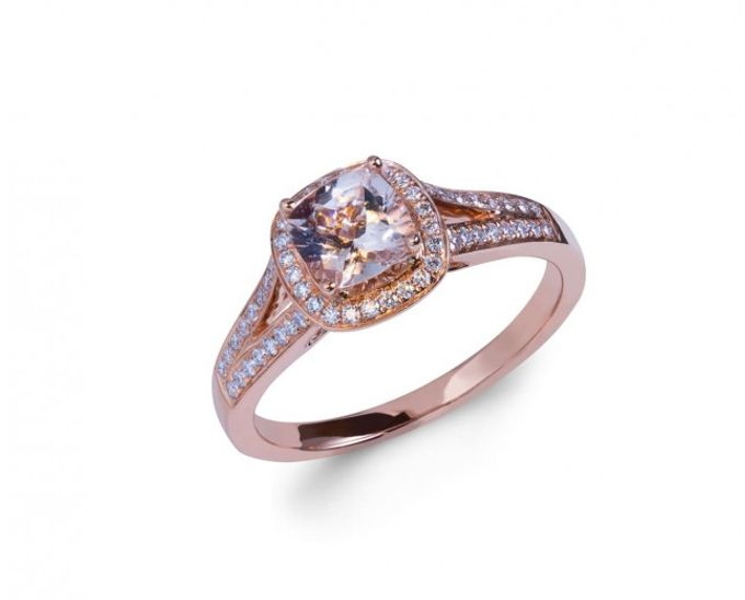 Morganite Engagement Rings by Lazlo Jewellers - 001