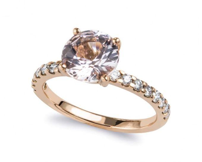 Morganite Engagement Rings by Lazlo Jewellers - 002