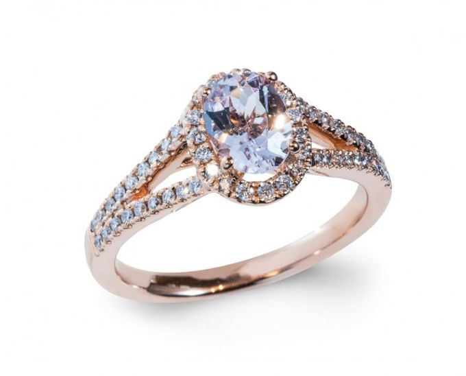 Morganite Engagement Rings by Lazlo Jewellers - 003
