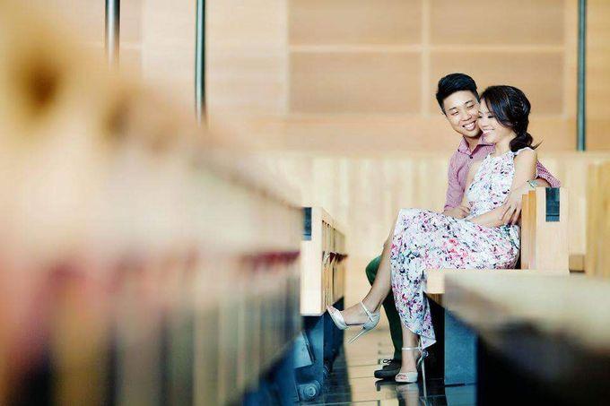 Pre Wedding Shoot ♥Daryl & Iris by Gin Tan makeup artist - 005