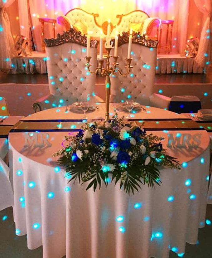 King  Blue And Gold by Kamy Wedding - 001