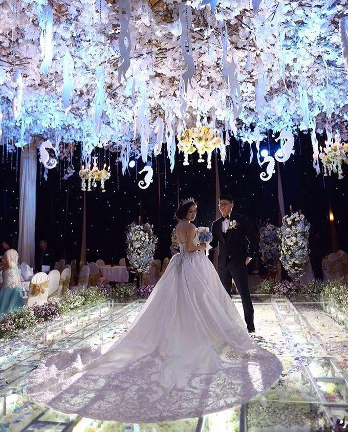 Wedding Of Danny & Elizabeth by Cozzy Photo Print - 002