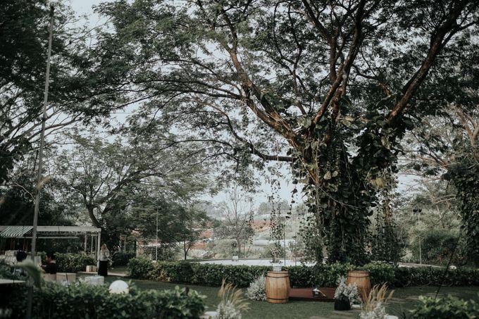 HELEN & MARKUS by Raffles Hills Cibubur - On Green Garden Venue - 005