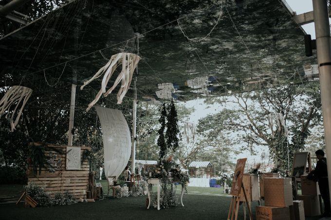 HELEN & MARKUS by Raffles Hills Cibubur - On Green Garden Venue - 006
