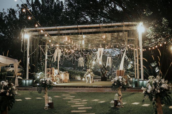 HELEN & MARKUS by Raffles Hills Cibubur - On Green Garden Venue - 011
