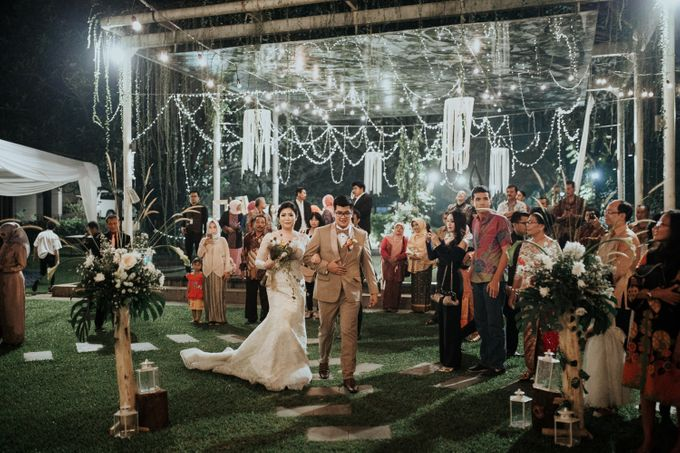 HELEN & MARKUS by Raffles Hills Cibubur - On Green Garden Venue - 002