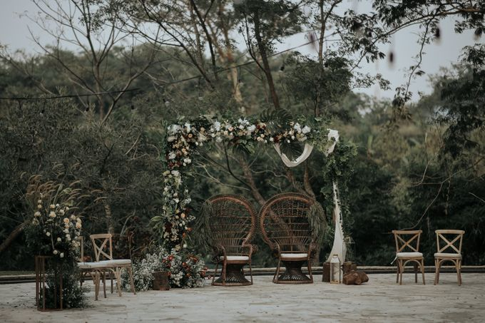 HELEN & MARKUS by Raffles Hills Cibubur - On Green Garden Venue - 017