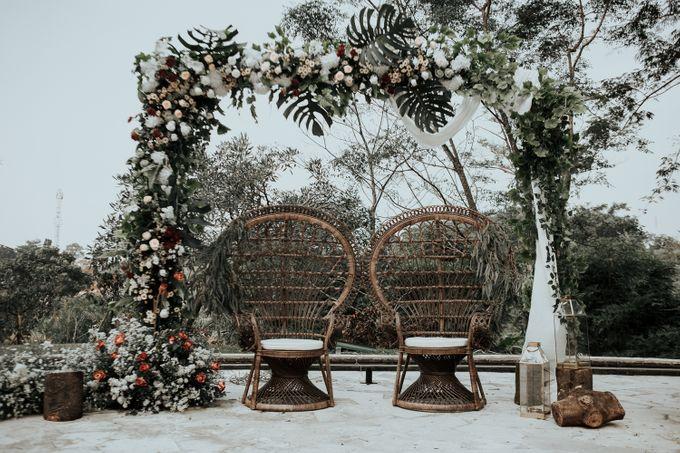 HELEN & MARKUS by Raffles Hills Cibubur - On Green Garden Venue - 020