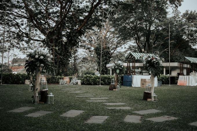 HELEN & MARKUS by Raffles Hills Cibubur - On Green Garden Venue - 021
