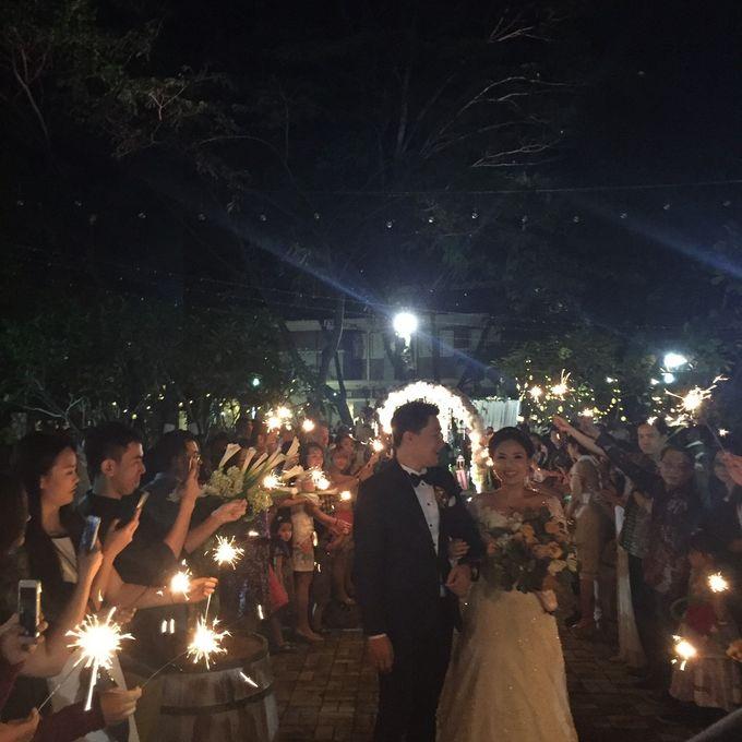 The Wedding Denny Oswaldo & Lusiana Tanudjaja by Red Hat Organizer - 002